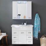 Trendteam Aqua – 2-teiliges Badezimmer-Set inkl. Keramik-Waschbecken für 214,99€ (statt 332€)