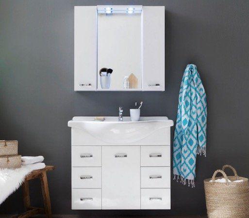 Trendteam Aqua   2 teiliges Badezimmer Set inkl. Keramik Waschbecken für 214,99€ (statt 332€)