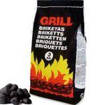 27kg Premium Grillbriketts Buche für 23,95€ (statt 28€)