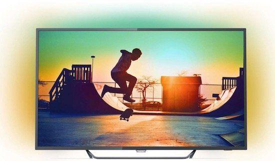 Philips 65PUS6262   65 Zoll 4K Fernseher mit 3 fachem Ambilight für 799€ (statt 1.036€)