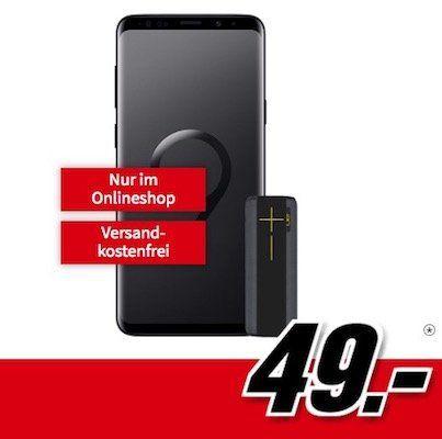 Knaller! Samsung Galaxy S9 Plus + UE Megaboom für 49€ + Vodafone Flat mit 2GB für 26,99€ mtl.