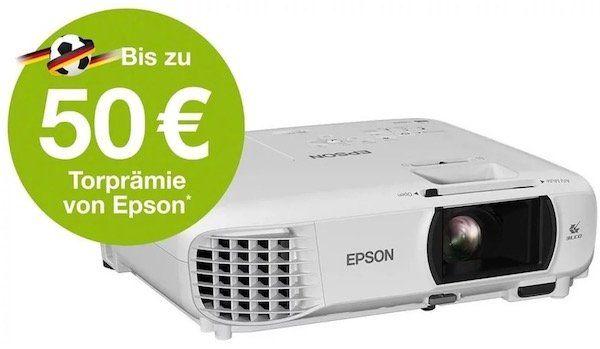 Für die WM: Epson EH TW650 Full HD Beamer für 479€ (statt 531€) + bis zu 50€ Cashback