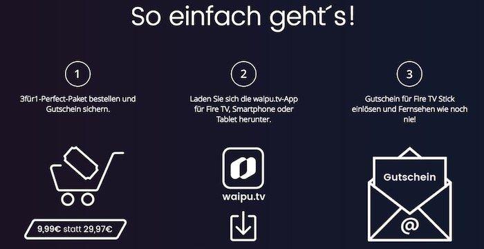 Für die WM: 3 Monate waipu.tv Perfect Streaming für 9,99€ (statt 29,97€) + 15€ Fire TV Stick (2. Gen.) Gutschein