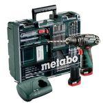 Metabo PowerMaxx BS Basic 10,8V Akku-Schlagbohrmaschine + 2 x 2 Ah Akkus + Zubehör für 82€ (statt 101€)