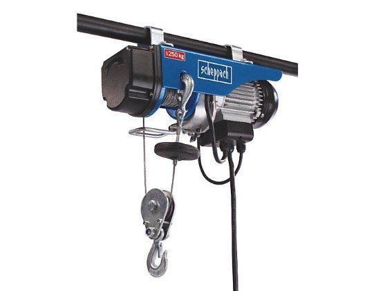 Scheppach HRS250   Elektrischer Seilzug für 74,99€ (statt 95€)