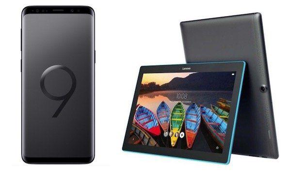 Knaller für Bestandskunden! Vodafone Red M mit 14GB LTE für 34,99€ mtl. + Galaxy S9 für 4,95€ + gratis Lenovo Tablet + gratis Ladestation