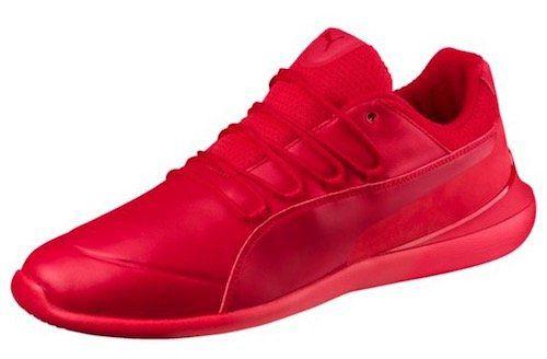 Puma Ferrari Evo Cat Herren Sneaker in Knallrot für 84€(statt 108€)
