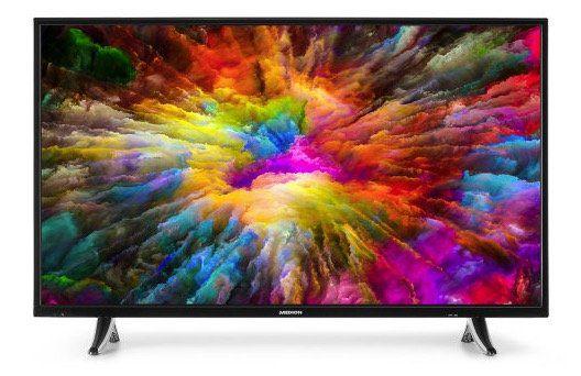 Medion X14310   43 Zoll 4K Fernseher mit Triple Tuner für 249€ (statt 399€)