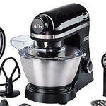 AEG KM3300 Küchenmaschine mit Zubehör für 149€(statt 169€)