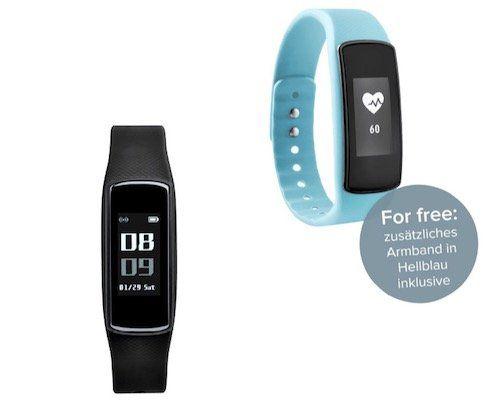 ADE AM 1700 FITvigo Aktivitätstracker für 49€ (statt 80€) + gratis 2. hellblaues Armband