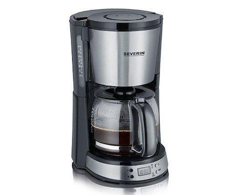 Severin KA 4192 Kaffeemaschine mit Timer und Warmhaltefunktion für 26€ (statt 31€)