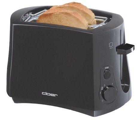 Cloer 2 Scheiben Toaster mit 825 Watt für 15€ (statt 25€)