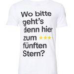 """""""Wo geht's zum 5. Stern?"""" WM 2018 Fan-Shirt für je 12,90€"""