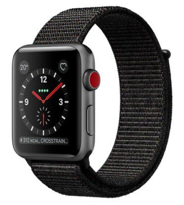 Apple Watch Nike 42mm mit Loop Crimson Band für 404,91€ (statt 467€)   nur eBay Plus