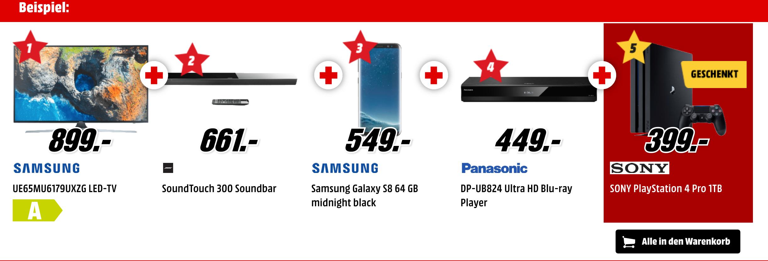 TIPP: Bei MediaMark: 5 beliebige Produkte in den Warenkorb legen und 4 bezahlen (Apple, Konsolen, Sonos...)