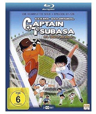 Captain Tsubasa: Die tollen Fußballstars   Die komplette Serie auf Blu ray für 30,99€
