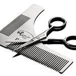 Ausverkauft! Bartschablonen- und Scheren Set komplett gratis (statt 13€)