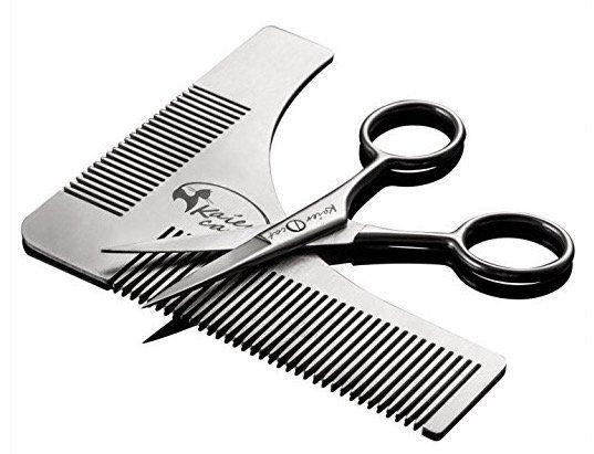 Ausverkauft! Bartschablonen  und Scheren Set komplett gratis (statt 13€)