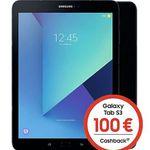 Vorbei! Samsung Galaxy Tab S3 LTE für 4,95€ + 100€ Cashback + o2 Data M Tarif mit 10GB LTE für 19,99€ mtl.
