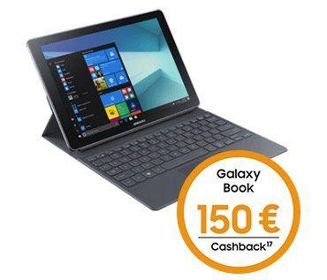 Knaller! Samsung Galaxy Book 10.6 LTE für 49€ + 150€ Cashback + o2 Data M mit 10GB LTE für 24,99€ mtl.