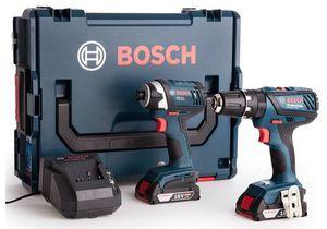 Bosch Combi Drill + Schlagschrauber + 2 x 2,0 Ah + L Boxx für 228,90€ (statt 275€)