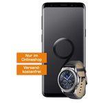Samsung Galaxy S9 + Galaxy Gear S3 classic für 99€ + Vodafone Allnet-Flat mit 2GB für 26,99€ mtl.