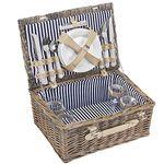 Picknickkorb + 21-teiligem Zubehör für 4 Personen für 29,89€ (statt 43€)