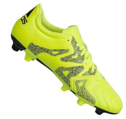 adidas X 15.3 FG/AG Herren Leder Fußballschuhe für 21,94€ (statt 34€)