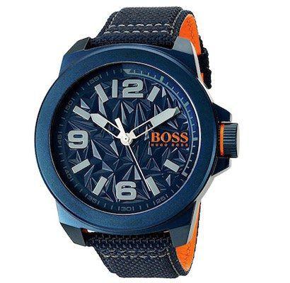 Hugo Boss New York Herrenuhr 50mm für 87,60€ (statt 144€)