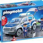 Playmobil City Action Polizei-Geländewagen mit Licht und Sound für 24,94€ (statt 33€)
