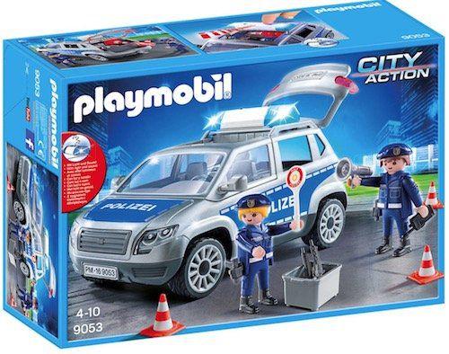 Playmobil City Action Polizei Geländewagen mit Licht und Sound für 24,94€ (statt 33€)