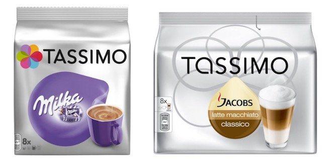 Tassimo Getränke mit 25% Rabatt ab 50€ + VSK frei