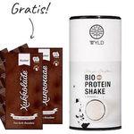 Bio Protein Shape Shifter Schokolade (450g) für 20,59€ + gratis 2er Pack Edel-Zartbitterschokolade (200g)