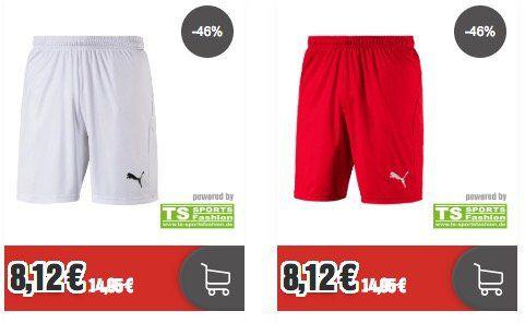 Puma Teamsport Sale bei Top12   z.B. Trikots für 9,12€ oder Shorts für 8,12€