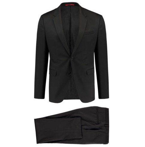 HUGO Herren Anzug Astian/Hets Slim Fit für 299,90€(statt 359€)