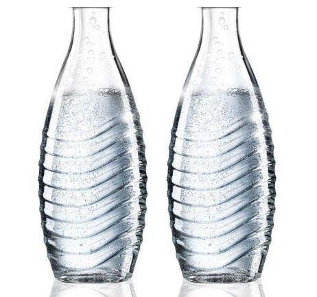2er Pack Sodastream Glas Karaffen (ohne Deckel!) für 12,99€(statt 20€)   Neuware ohne OVP