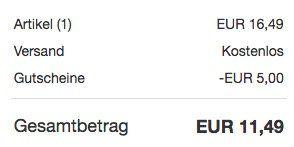 15€ Google Play Store Guthaben für 11,49€