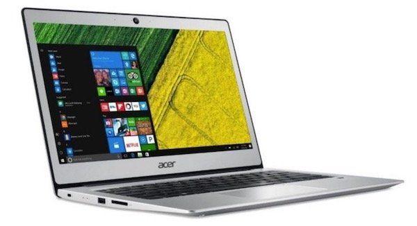 Acer Swift 1 SF113 31 P2CP   13,3 Zoll Full HD Notebook mit 256GB SSD für 399€ (statt 519€)