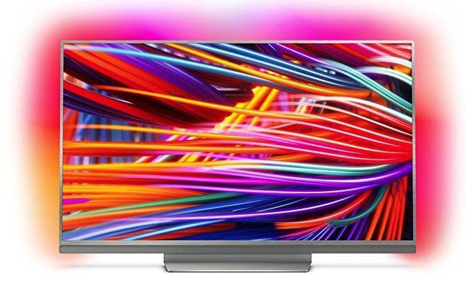 Philips 55PUS8503   55 Zoll 4K Fernseher mit 3 fachem Ambilight für 799€ (statt 877€)