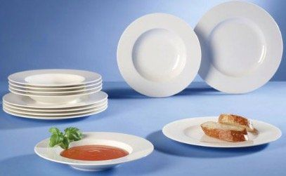 Villeroy & Boch Wonderful World White Tafel Geschirr aus Premium Porzellan für 84,99€(statt 100€)