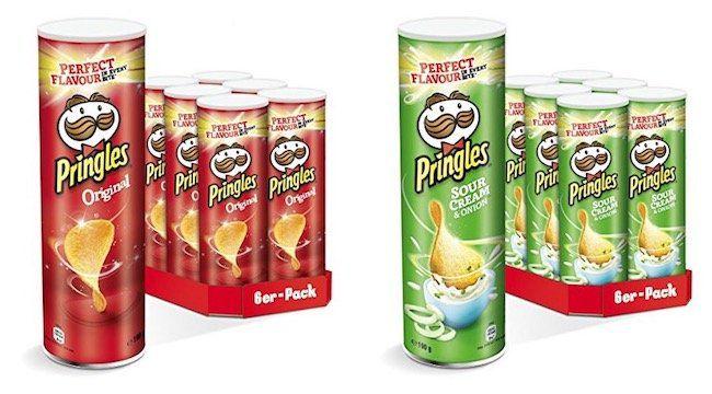6er Pack Pringles mit je 200g (mehrere Sorten) ab 7,88€   nur 1,31€ pro Rolle