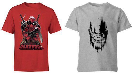 30% Rabatt auf lizenzierte Marvel Kleidung + keine VSK