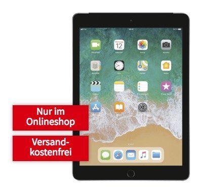 iPad 2018 mit 32GB LTE für 169€ + Telekom 10GB LTE Datenflat für 19,99€ mtl.
