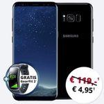 Samsung Galaxy S8 Plus für 4,95€ + gratis GearFit 2 Band + Vodafone Flat mit 4GB von Otelo für 24,99€ mtl.
