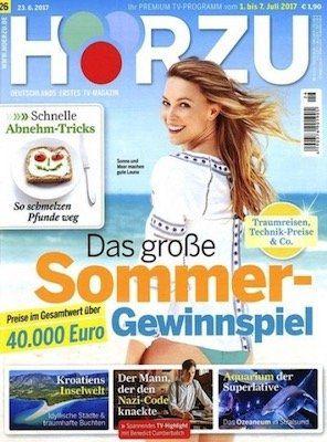 Knaller! 1 Jahr HÖRZU TV Zeitschrift gratis + einmalig 4,95€ VSK