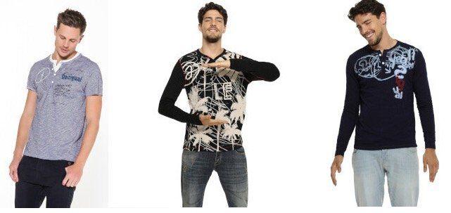 Desigual Sale mit bis zu 70% Rabatt bei Vente Privee   z.B. T Shirts ab 17,99€