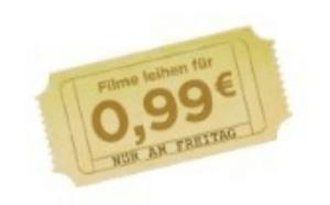 Amazon Freitag Filme Abend mit 10 Filmen in HD für nur 0,99€ leihen