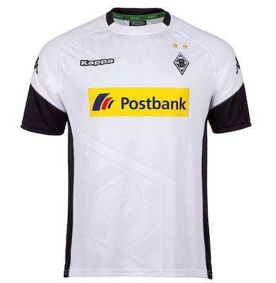 Kappa Borussia Mönchengladbach Herren Heim Trikot für 13,94€ (statt 19€)