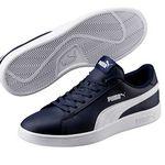 Puma 365215  Smash v2 L Herren Sneaker für je 29,90€ (statt 39€)