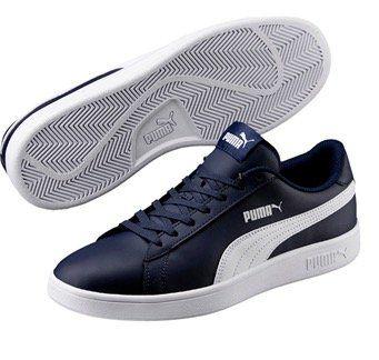 Puma 365215  Smash v2 L Herren Sneaker für je 29,99€ (statt 39€)